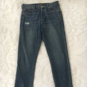 Express High Rise Vintage denim